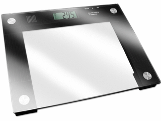 Talking Digital Scale 15  x 12  x 1  Platform  550 lb  Weight Capacity