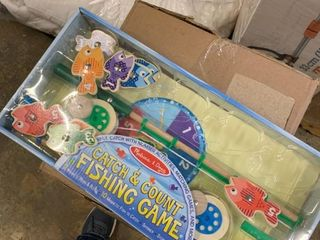 Melissa and Doug Kids  Catch   Count Fishing Game