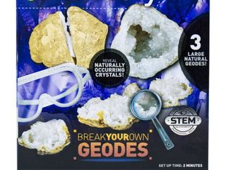 Discovery Kids Break Your Own Geodes Activity Kit
