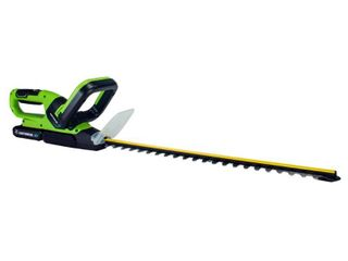 Earthwise lHT12021 20  Cordless Electric 20 Volt Hedge Trimmer  2Ah Battery and Charger Included