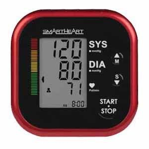 SmartHeart Automatic Arm Cuff Digital Blood Pressure Monitor