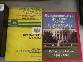 John Deere lX tractors manual   state quarter book