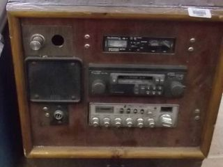 portable radio and CB system
