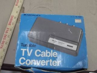 TV cable converter