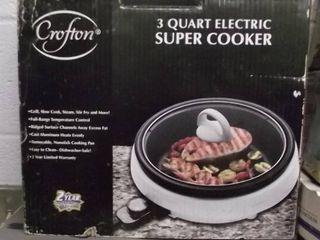 3 quart electric super cooker