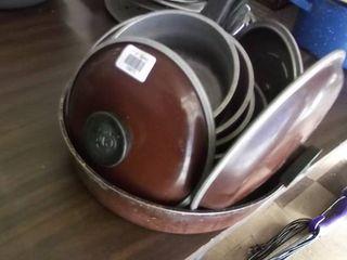 pots pans and lids