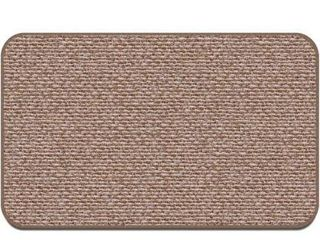 House  Home and More Skid Resistant Carpet Indoor Area Rug Floor Mat   Praline Brown   2  A 9