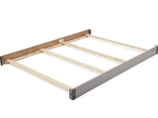 Delta Children Wooden Full Size Bed Rails  Brown