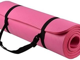 BalanceFrom GoYoga All Purpose Anti Tear Exercise Yoga Mat with Carrying Strap