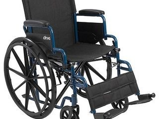 Transport WheelchairWheelchairs K1 Product Description  BlueStreak 20 D FlipBackArms SwgFt 1 ea