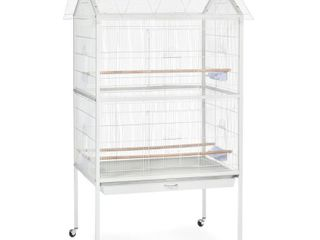 Prevue Pet Products Aviary Flight Cage  White