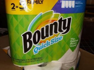 Bounty Paper Towels  White
