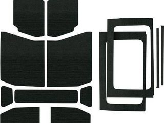 Design Engineering 050178 Boom Mat Complete Sound Deadening Kit for 4 Door Jeep Wrangler Jl