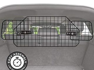 Pawple Dog Barrier for SUV s  Cars   Vehicles  Heavy Duty   Adjustable Pet Barrier  Universal Fit