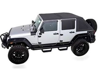 Rampage Products   139935   TrailView Fastback Soft Top   fits a07 a18 Jeep Wrangler JK 4dr