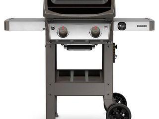 Weber Spirit II E 210 Propane Gas Grill  Black