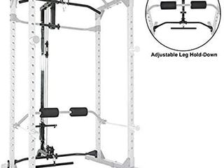 Super Max Power Cage With Optional lat Pulldown Attachment Only  For Home Gym