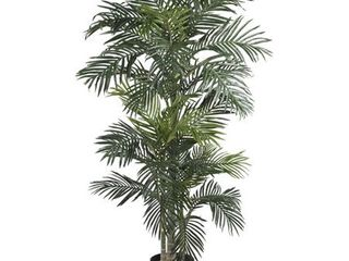 Nearly Natural 6 5  Golden Cane Palm Silk Tree