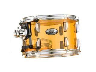Pearl Crystal Beat 10 x7  Tom Tangerine Glass Crb1007t c732 Drum