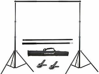 photo back drop support kit  NO SPRING ClAMPS