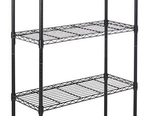 Amazonbasics 5 shelf Shelving Unit  Up To 160 Kg Per Shelf  Black   Not Inspected