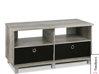 Furinno Entertainment Center W 2 Bin Drawers Not Inspected