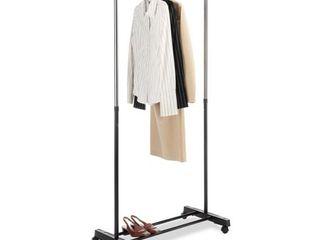 Whitmor Adjustable Garment Rack   Not Inspected