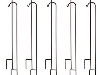 Tovai Shepherds Hooks 48 Set of 10 Stake Hangers