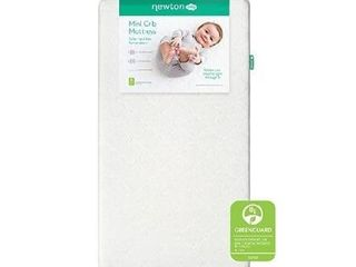 Newton Baby Mini Crib Mattress and Toddler Bed   100  Breathable Proven to Reduce Suffocation Risk  100  Washable  Hypoallergenic  Non Toxic  Better Than Organic   Removable Cover Included   White