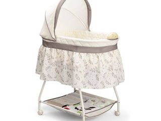 Delta Children Products Sweet Beginnings Bassinet  Falling leaves   Not Inspected
