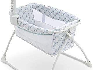 Delta Children 27505 448 Deluxe Portable Bedside Bassinet Sleeper  Windmill