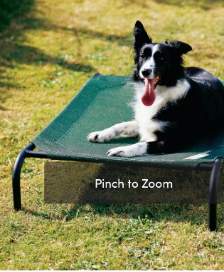 Coolaroo Pet Bed   Small to Medium Size Dogs     Not Inspected