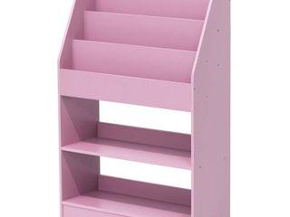 Furinno KidKanac Kids Bookshelf  5 Shelf  Multiple Colors   Not Inspected