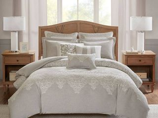 Madison Park Signature Barely There King 9 Piece Comforter Set Bedding