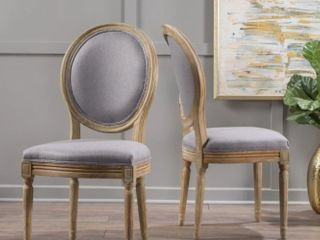 set of 2 dining chairs Beige 60352