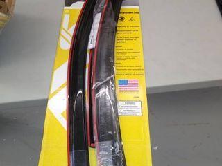 AVS Side Window Deflectors In Channel   Chevrolet Equinox   Model 18   20 year dates