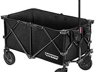 VIVOSUN Heavy Duty Collapsible Folding Wagon Utility Outdoor
