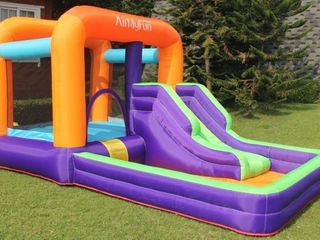 Slide and Ball Pool Bouncy Castle