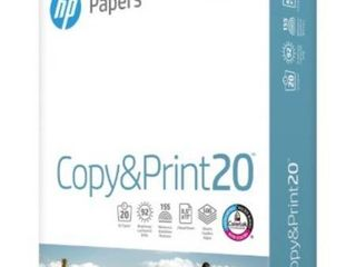 HP Everyday Copy and Print Paper Bundle 8 1 2 x 11 Inches  92 Bright  500 Sheets Ream  200060