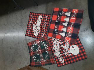 18 x 18 inch Christmas Pillow Covers