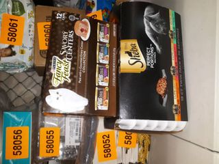 Cat Food Bundle  Fancy Feast Savory Centers and Sheba Perfect Portions