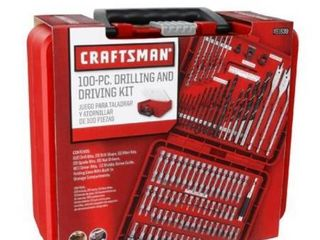 Craftsman 100 Piece Drilling and driving Accessory Kit