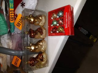 Ornament Bundle  foxes and mini ornaments