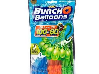 Bunch O Balloons 100 Rapid Filling Self Sealing Water Balloons  3 Pack  by ZURU