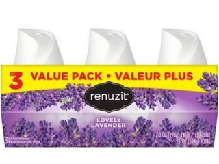 Renuzit lavender Gel Air Freshener   7oz   3ct