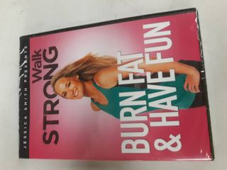 Jessica Smith Presents Walk Strong Burn Fat   Have Fun   Cardio Exercise Dvd