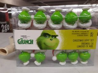 The Grinch Christmas light Set