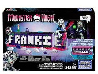 Mega Bloks Monster High Monsterific Name Builder