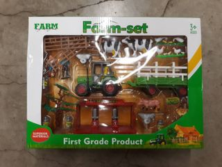 Farm Set Toys  Superior Materals  First Grade Product  Ages 3