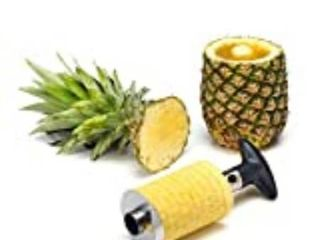 Statko Stainless Steel Pineapple Peeler  Pineapple Corer  Pineapple Slicer   On
